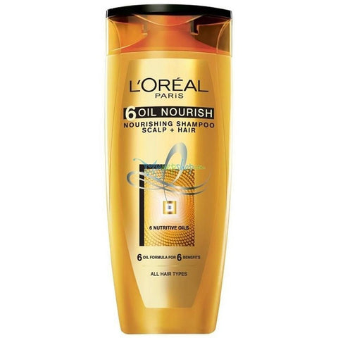L'Oreal Paris Shampoo 6 Oil Nourish 175ml - test-store-for-chase-value