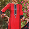 VS Daman Printed Lawn 3 Pcs Un-Stitched Suit Vol 1 - 1305-A