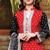 VS Daman Printed Lawn 3 Pcs Un-Stitched Suit Vol 1 - 1306-B