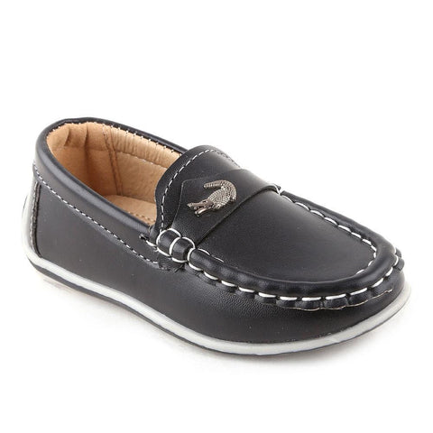 Boys Loafer (B727-TC1) - Black - test-store-for-chase-value