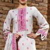 VS Daman Printed Lawn 3 Pcs Un-Stitched Suit Vol 1 - 1314-B