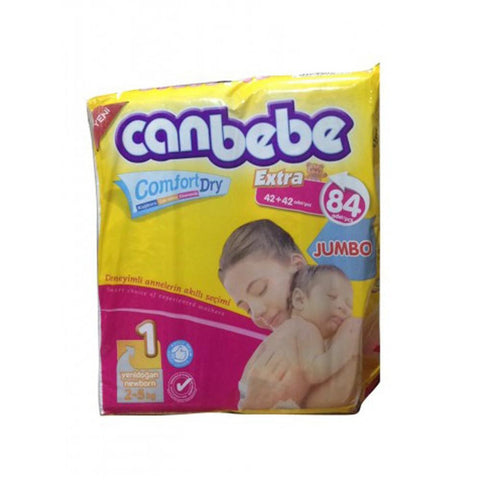Canbebe Jumbo Newborn 84 Pcs - test-store-for-chase-value