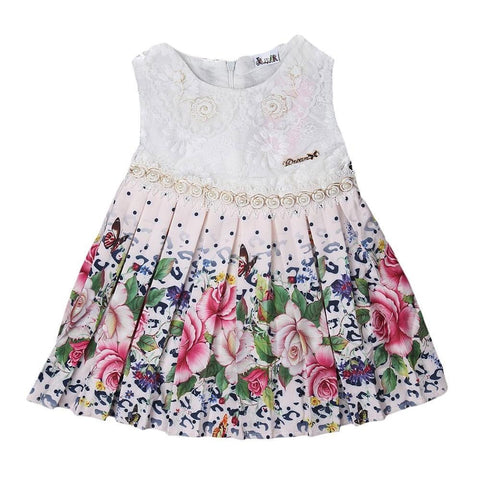 Newborn Girls Frock - Pink - test-store-for-chase-value
