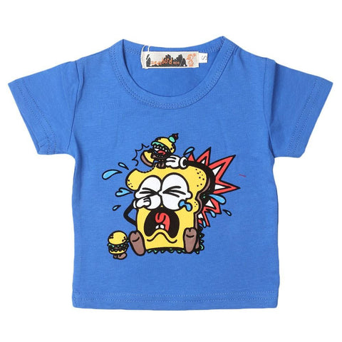 Newborn Boys T-Shirt - Blue - test-store-for-chase-value