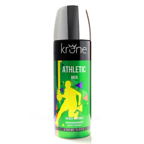 Krone Athletic Men Deodorant Body Spray 200ML - test-store-for-chase-value