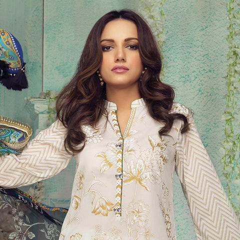 Orient Luxury Embroidered Suit-B020 - test-store-for-chase-value