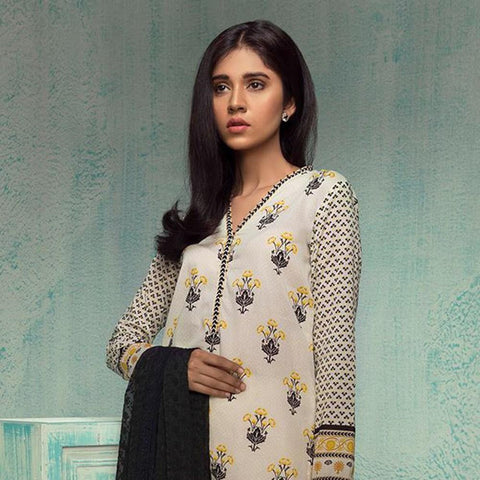 Orient Exclusive Chiffon Embroidered Suit-A104 - test-store-for-chase-value