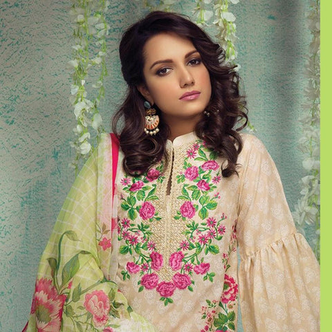 Orient Luxury Embroidered Suit-A006 - test-store-for-chase-value