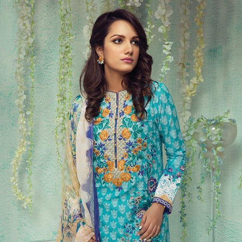 Orient Luxury Embroidered Suit-B006 - test-store-for-chase-value