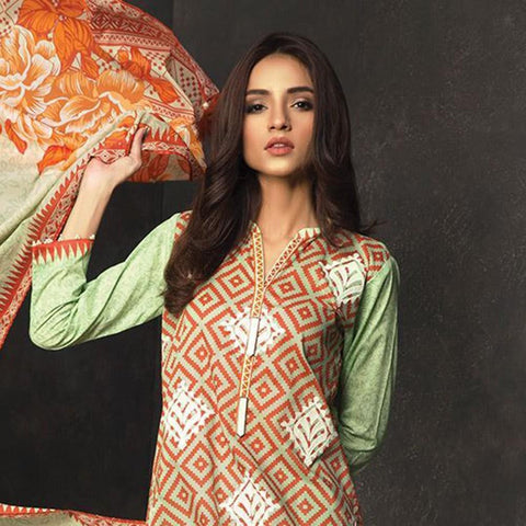 Orient Exclusive Embroidered Suit-B067 - test-store-for-chase-value