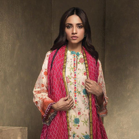 Orient Ethnic Stamp Embroidered Suit-B003 - test-store-for-chase-value