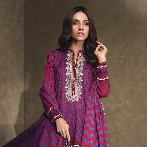 Orient Ethnic Stamp Embroidered Suit-A032 - test-store-for-chase-value