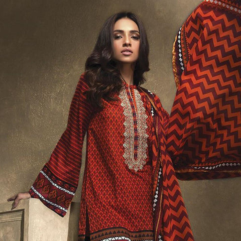 Orient Ethnic Stamp Embroidered Suit-B032 - test-store-for-chase-value