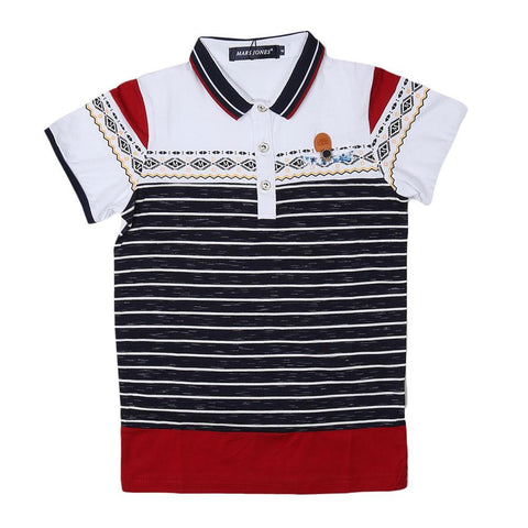 Boys Polo T-Shirt - White - test-store-for-chase-value