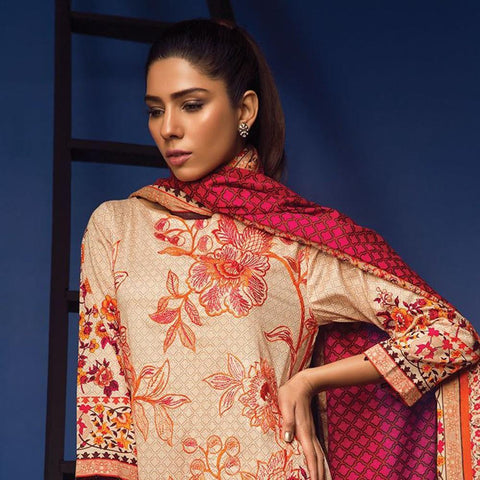 Orient Exclusive Embroidered Suit-B021 - test-store-for-chase-value