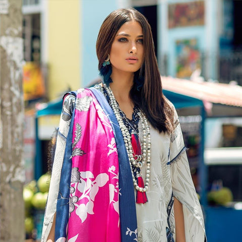Elan Designer Embroidered Lawn Suit - 9B - test-store-for-chase-value