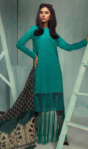 Orient Exclusive Jacquard Embroidered Suit-B092 - test-store-for-chase-value