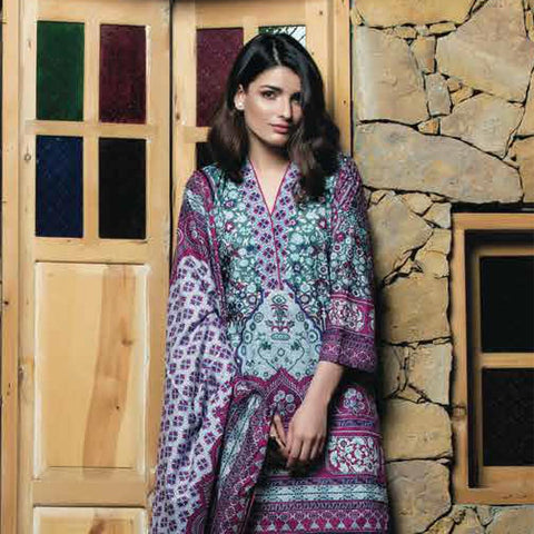 Subhata Printed Lawn Suit 8B - test-store-for-chase-value