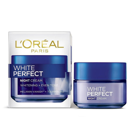 L'Oreal Paris White Perfect Night Cream SPF 17 - test-store-for-chase-value