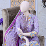 Bellisimo Embroidered Lawn Suit - 4A - test-store-for-chase-value