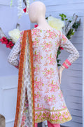 Bellisimo Embroidered Lawn Suit - 4B - test-store-for-chase-value