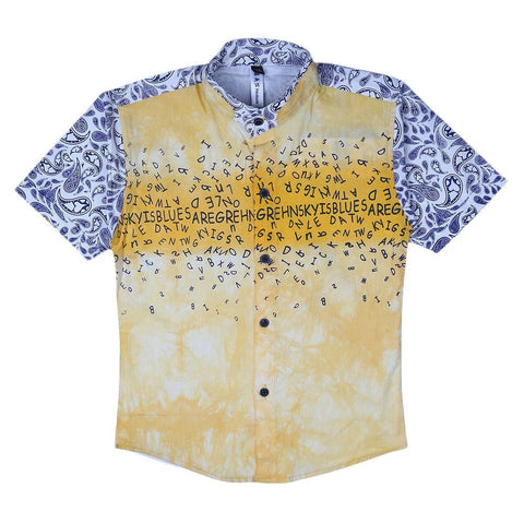 Boys Casual Shirt - Yellow - test-store-for-chase-value