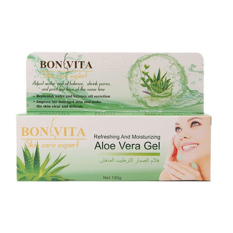 Bonvita Aloe Vera Gel Refreshing & Moisturizing BVT-115 120g - test-store-for-chase-value