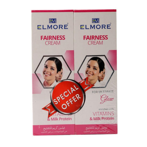 Elmore Fairness Cream Ultimate Glow Pack Of 2 - 50ml - test-store-for-chase-value