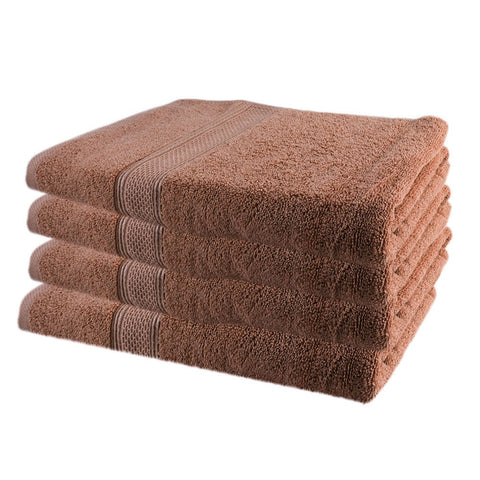 Terry Bath Towel - Dark Brown - test-store-for-chase-value