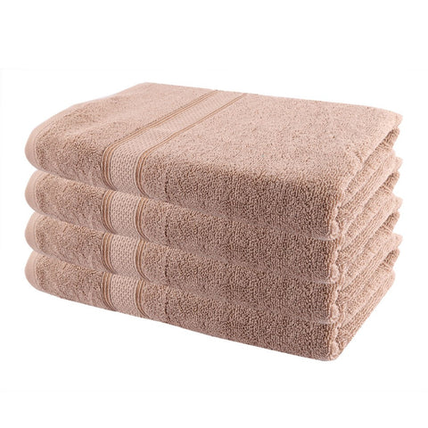 Terry Bath Towel - Light Brown - test-store-for-chase-value