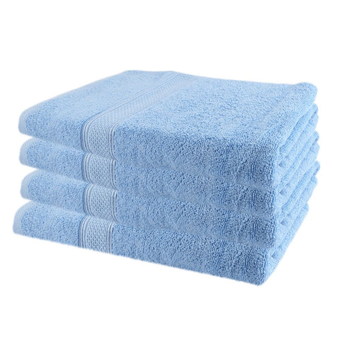 Terry Bath Towel - Light Blue - test-store-for-chase-value