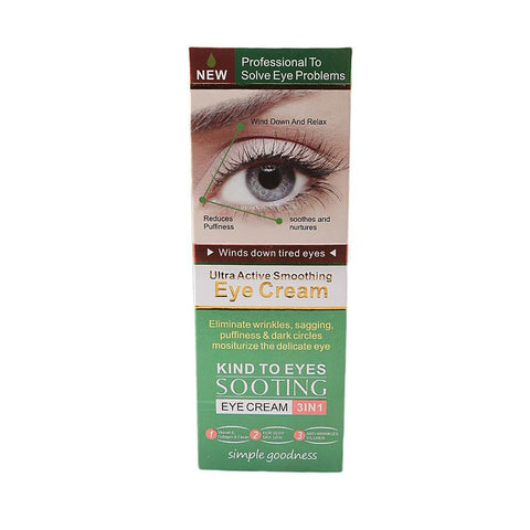 Green Ultra Active Smoothing Eye Cream 3in1 - 30g - test-store-for-chase-value