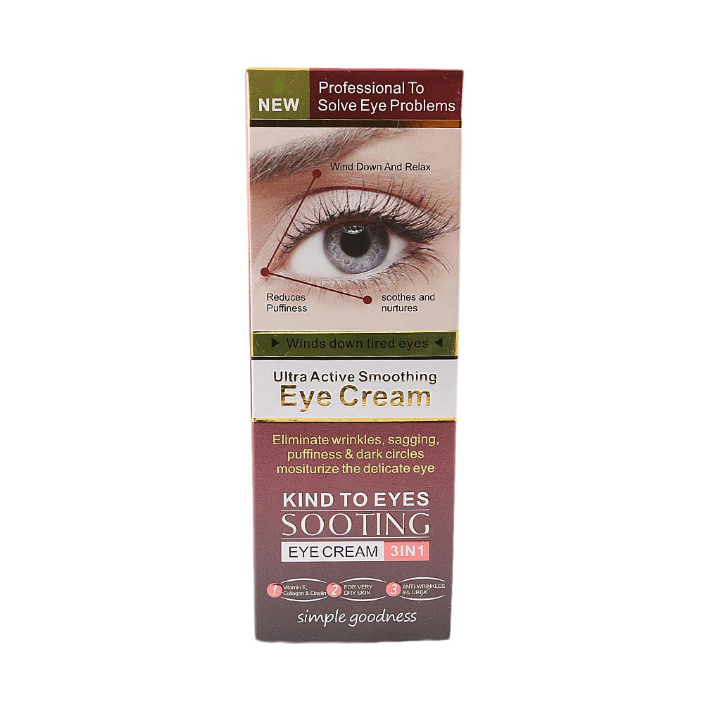 Violet Ultra Active Smoothing Eye Cream 3in1 30g Chase Value Centre