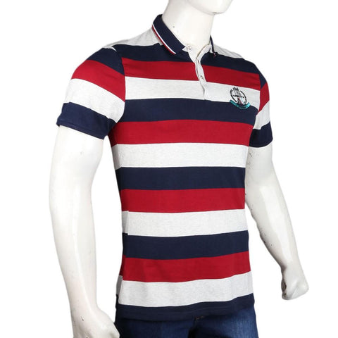 Men's Polo T-Shirts - Maroon - test-store-for-chase-value