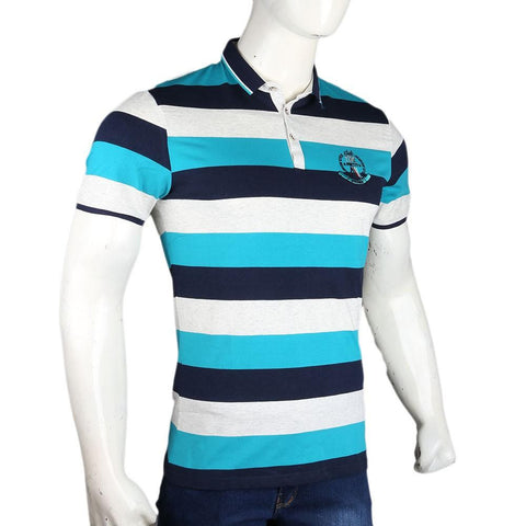 Men's Polo T-Shirts - Blue - test-store-for-chase-value