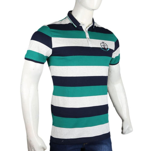 Men's Polo T-Shirts - Sea Green - test-store-for-chase-value