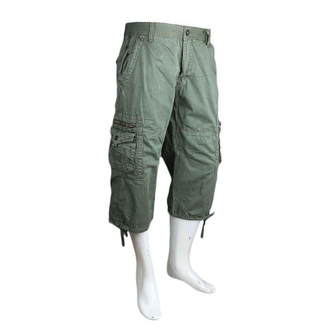 Men's 3Qtr Cargo Short - Green - test-store-for-chase-value
