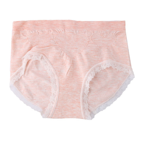 Women's Fancy Panty - Peach - Purple - test-store-for-chase-value