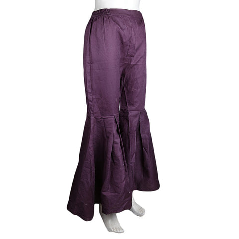 Women's Gharara Pant - Purple - test-store-for-chase-value