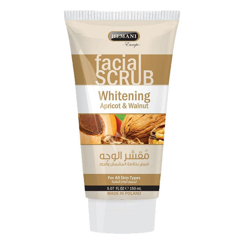 Hemani Facial Scrub Apricot & Walnut - 150ml - test-store-for-chase-value
