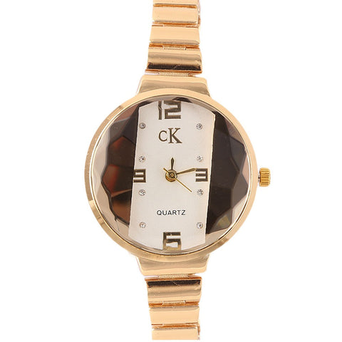 Women's Fancy Wrist Watch - Golden - test-store-for-chase-value