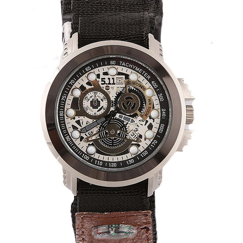 Men's Wrist Watch - Black - test-store-for-chase-value