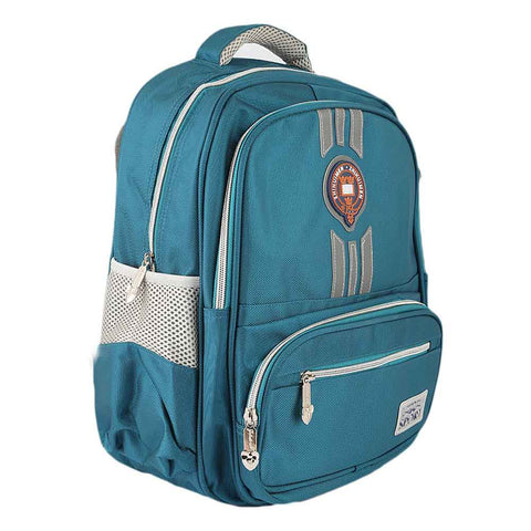 Kids School Bag (15025) - Green