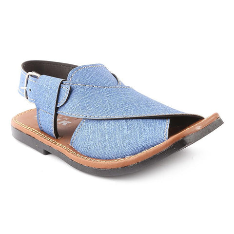 Boys Peshawari Sandals 01 - Blue - test-store-for-chase-value