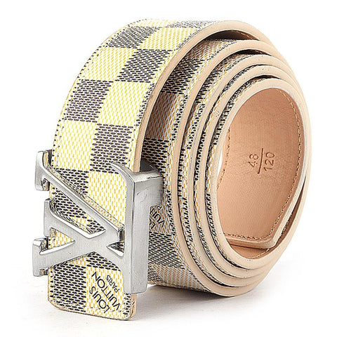 Men's LV Belt - Off White - test-store-for-chase-value