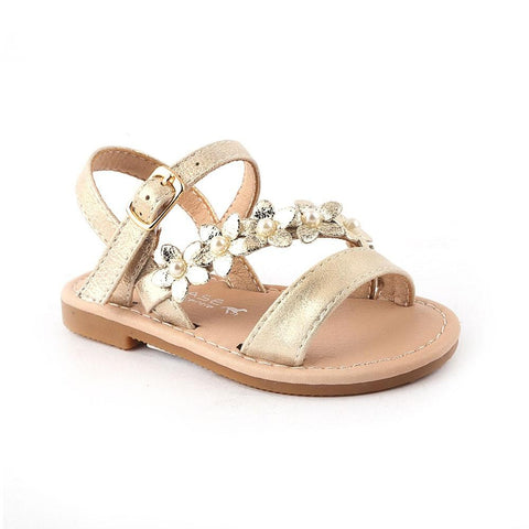 Girls Fancy Sandals 123-2 (19-24) - Golden - test-store-for-chase-value