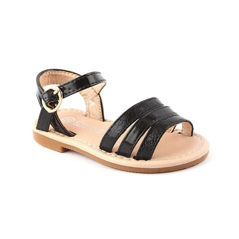 Girls Fancy Sandals 1004 (19-30) - Black - test-store-for-chase-value