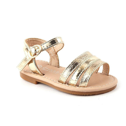 Girls Fancy Sandals 1004 (19-30) - Golden - test-store-for-chase-value