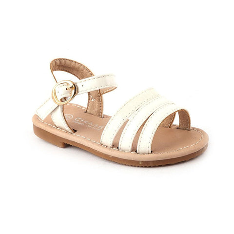 Girls Fancy Sandals 1004 (31-36) - White - test-store-for-chase-value