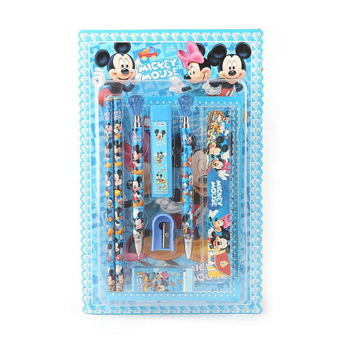 Micky Mouse Stationery Set - Blue - test-store-for-chase-value